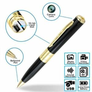Mini Spy Camera Pen USB Hidden DVR Camcorder Video Audio Recorder Full HD 1080P