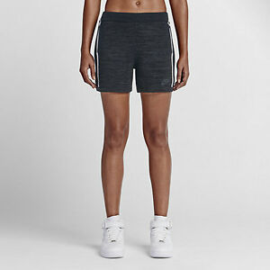 Nike Women's Tech Knit Shorts Black (XS) 747980 010 Retail $120