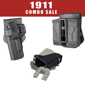 Fab Defense Holster & Double Mag Pouch & Speed Loader for 1911 -Fab 22Lula Kit