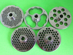 PICK YOUR SIZE #22 Meat grinder food chopper plate disc knife with HUB 3 3/16