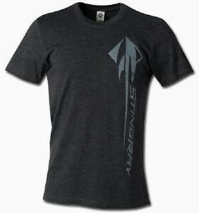 CORVETTE C7 T SHIRT CHARCOAL GRAY C 7 STINGRAY LOGO M XL24.992XL,3XL FS NEW