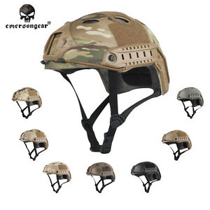Tactical FAST Helmet EMERSON PJ Type cycling Aisroft Military Duty Headwear 8811
