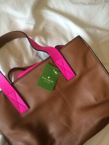 Brand New Kate Spade Brown and Pink Purse