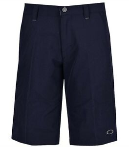NEW! Oakley Take 2.5 Mens Golf Shorts - Sz 34 or 36 - Peacoat Dark Blue - Bubba