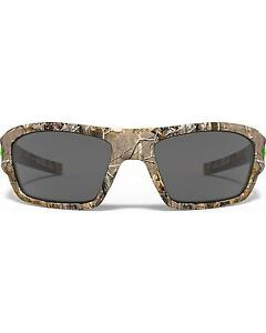 Under Armour Men's Satin Realtree Camo Force Sunglasses Camouflage One Size