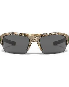 Under Armour Men's Realtree Camo UA Big Shot Sunglasses  Camouflage One Size