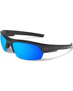 Under Armour Men's UA Igniter 2.0 Storm Polarized Sunglasses  Black One Size