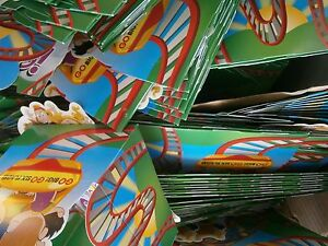 Food trays, kids (Six Flags Magic Mountain almost 2 boxes for Local pick up)