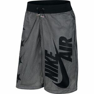 Nike Air Pivot V3 Mesh Black White Shorts Sz Large 778060-011