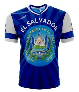 El Salvador and USA Jersey Arza Design for Kids Boys and Adults. $24.99