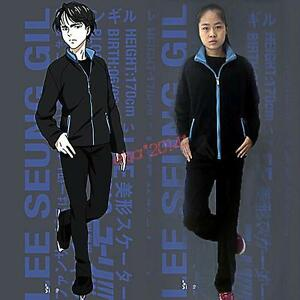 Yuri!!! on Ice Cosplay Costumes Ri Seung-gil Sport Suit Jacket Pants sports wear
