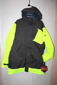 UA UNDER ARMOUR COLD GEAR INFRARED SKISNOWBOARD JACKET MENS XLARGE NEW WTAGS
