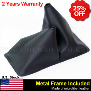 Manual Shift Boot Leather Synthetic for Toyota 4 Runner 4x4 84 89 Black 11.5 $29.96