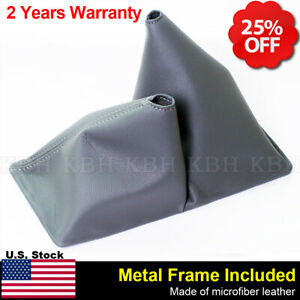 Manual Shift Boot Leather Synthetic for Toyota 4 Runner 4x4 84 89 Gray 11.5 $29.96