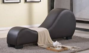 Leather Sex Couch Loveseat Exotic Furniture Sofa Chaise Lounge Yoga Chair $209.95