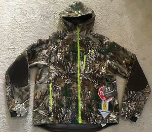 Under Armour Men's Storm Windstopper Camo Jacket (M) Real Tree Xtra 1259190 946