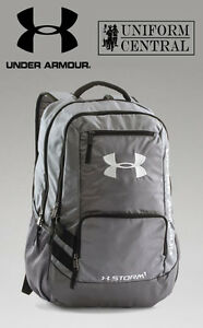 New Under Armour UA Storm Hustle II Gray Tactical Backpack - 1263964
