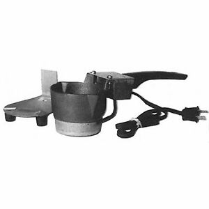 Lead Melting Pot Equipment Furnace Ladle Electric Cast Iron Pewter Casting Mold