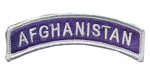 Combat Veteran - Purple Heart Afghanistan Tab - OEF - Ranger - US Special Forces