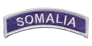Purple Heart - Somalia Tab - Battle of Mogadishu - Black Hawk Down - TF Ranger