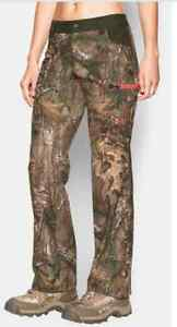 NWT Under Armour Womens Speed Freek Hunt Pants Camo Scent Control 6 1248182 946