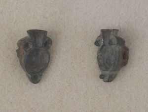 Two part bronze lead ball mold maker and still fits together perfectly