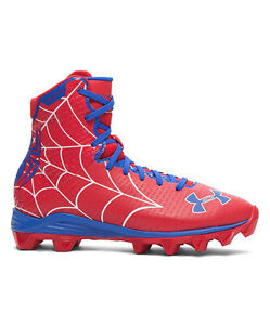 UNDER ARMOUR spiderman HIGHLIGHT RM ALTER EGO JR lacrosse 1246277 boysYouth 5.5