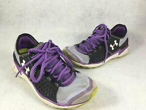 Under Armour Women's Running Walking Shoes Micro G Size 6