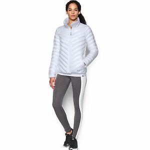 Womens Under Armour CGI UPTOWN JACKET 1280891-100 msrp $200