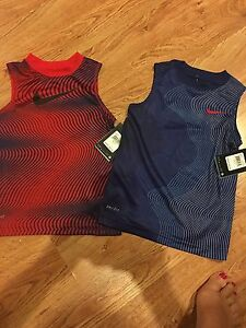 BNWT Nike Lot Of (2) Sleeveless Dri-Fit Shirts Boys 2T