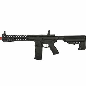 Lancer Tactical Advanced Recon Carbine M4 Automatic Electric Airsoft Rifle Black