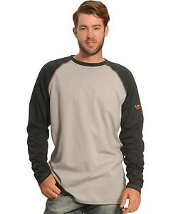 Ariat Men's Fr Long Sleeve Baseball T-Shirt - 10018441