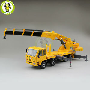 135 XCMG Articulated Truck Crane Construction Machinery Diecast Model Car Truck