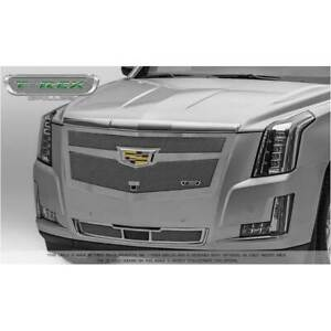 T-Rex Triple Chrome & Polished Upper Class Main Grille for Cadillac Escalade 15