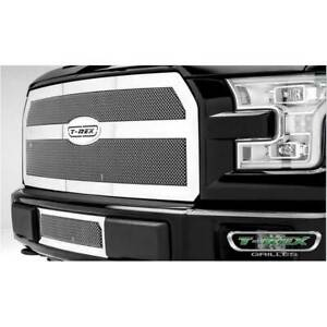 T-Rex Polished Upper Class Series Main Grille for Ford F-150 2015-2016