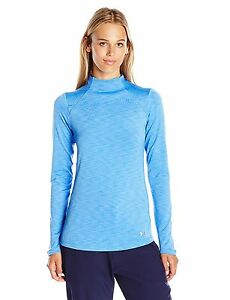 Under Armour Womens ColdGear Armour Mock Water 464 Large