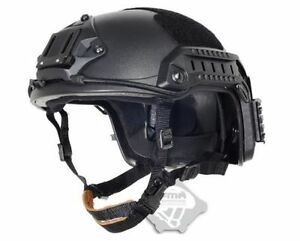 Adjustable MH Maritime Helmet ABS BK For Airsoft Tactical wilcox mich Fast NVG M