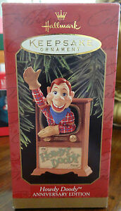 Hallmark Keepsake Ornament Howdy Doody Anniversary Edition Mint in Box