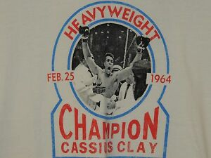 NWT Under Armour  Roots Of Fight Muhammad Ali Cassius Clay Men's Size L Shirt