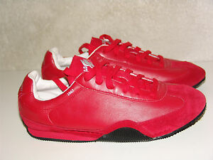 Vintage Polo Sport Ralph Lauren Running Shoes RED. P Wing. Women 7 B Not Yeezy