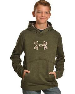 Under Armour Boys' Storm Icon Caliber Hoodie - 1286129-357
