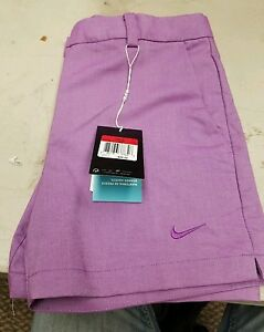 women's  nike golf shorts size L dry-fit new with tags