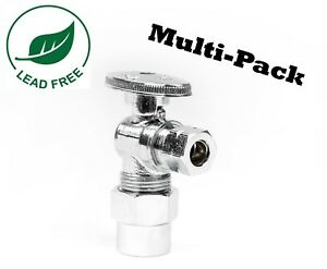 1 4 Turn Angle Stop Valve Compression 1 2quot; CPVC X 3 8quot;OD Lead free $29.26