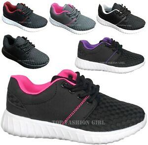 NEW Kids Boys Girls Sporty Mesh Sneaker Lace Up Tennis Shoe Size 10 to 4 $16.95
