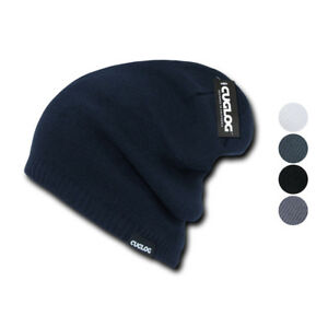 Cuglog Slouch Baggy Skater Surfer Hipster Beanies Thick Long Fit Caps Hats $12.95