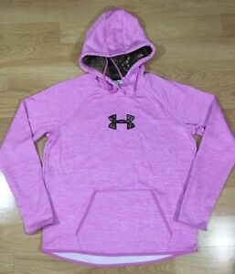 Under Armour Storm1 Hoodie Women's Size Large Pink And Camo Waterproof $50.00