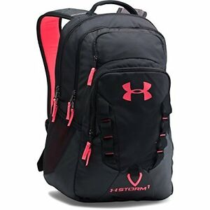 Under Armour Storm Recruit Backpack Black 005 One Size  - FREE Ship