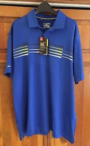 New Under Armour Men's Coldblack Ace Golf Polo Shirt Large XXL LOOSE  1272324