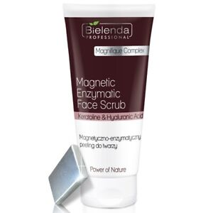 Bielenda Professional Power of Nature Magnetic Enzymatic Face Scrub FREE Magnet