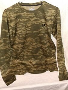 NWT Under Armour UA Men's Loose Fitting Shirt cool dry  CAMO Lg